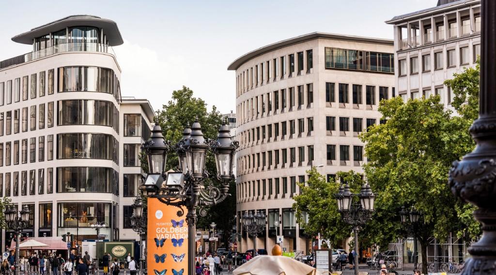 Kanzlei Lennert Schneider am Opernplatz ( Alte Oper ) Frankfurt am Main - Buerogebäude der Kanzlei